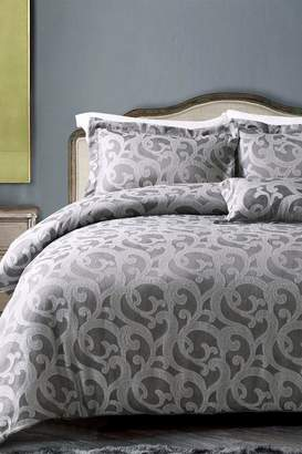 +Hotel by K-bros&Co California Design Den by NMK Hotel Windsor Scroll Comforter Set - Charcoal