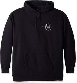 Brixton Men's Wheeler Standard Fit Hood Fleece