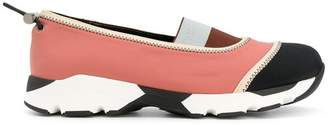 Marni laceless colour block sneakers