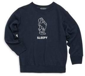 Knowlita Toddler's, Little Girl's& Girl's Snow White Sleepy Crewneck Sweatshirt