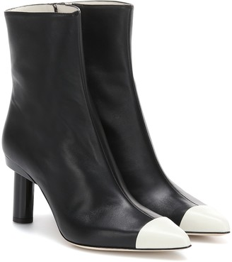 Tibi (ティビ) - Tibi Grant leather ankle boots