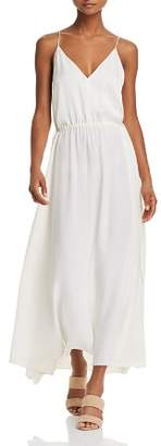 Theory Silk Relaxed Maxi Dress