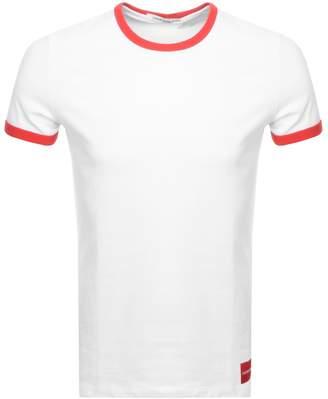 Calvin Klein Authentic Ringer T Shirt White