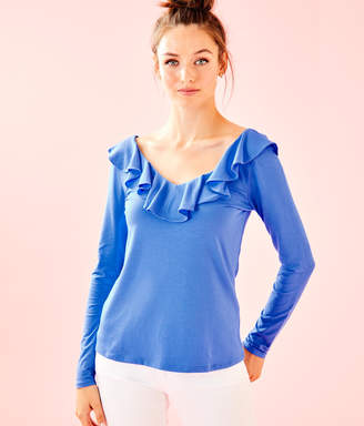 Lilly Pulitzer Alessa Long Sleeve Top