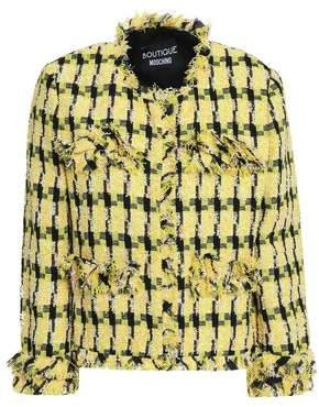 Moschino Frayed Tweed Jacket