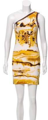 Jean Paul Gaultier One-Shoulder Mini Dress