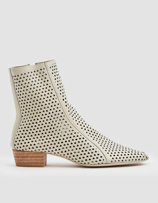 Rachel Comey Cove Perforated Boot in Bone