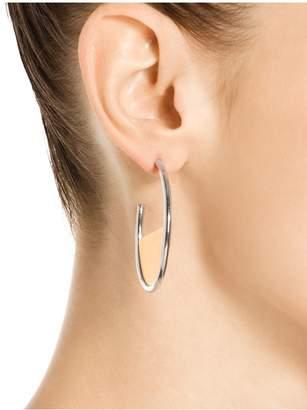 St. John Metal Hoop Earring