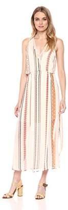 ASTR the Label Women's Millie Casual Loose Flowy Wrap Top Blouson Sleeveless Maxi