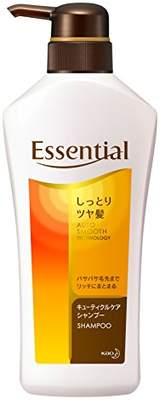 Essentiel (エッセンシャル) - エッセンシャル シャンプー しっとりツヤ髪 ポンプ 480ml