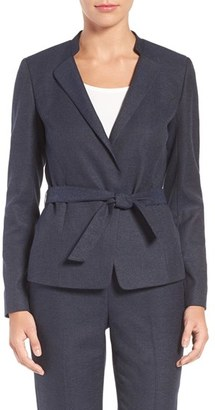 Women's Emerson Rose Belted Suit Jacket $179 thestylecure.com