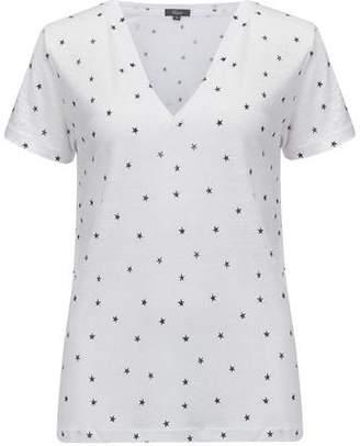 Rails Cara T-Shirt in White and Navy Stars