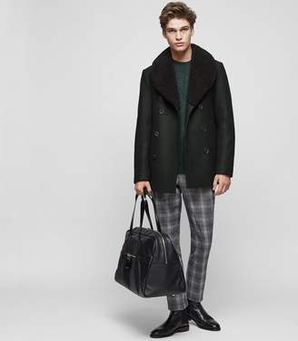 Reiss Pangea Double-Breasted Collar Coat