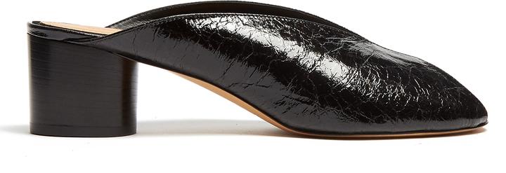 Isabel MarantISABEL MARANT Measha cracked-leather mules
