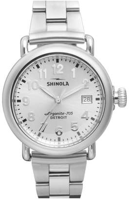 Shinola 'The Runwell' Bracelet Watch, 36mm