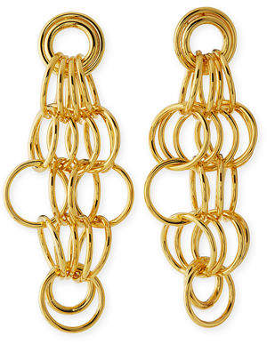 Nest Loop Drop Statement Earrings u51WH