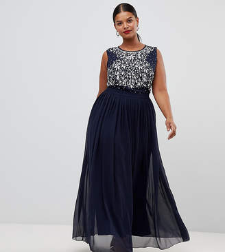 Lovedrobe Luxe Plus Lovedrobe Luxe embellished maxi dress