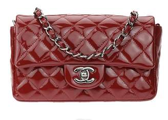 Chanel Timeless patent leather crossbody bag