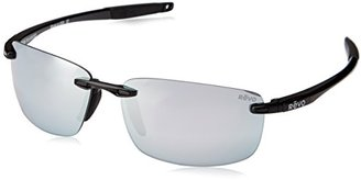 Revo Descend N RE 4059 Polarized Rectangular Sunglasses $179 thestylecure.com