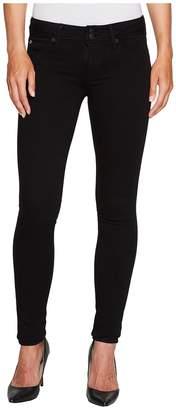Hudson Collin Skinny Supermodel in Black Women's Jeans