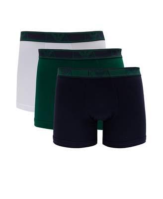Emporio Armani Eva Band 3 Pack Boxer Shorts