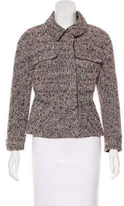 Chanel Metallic Bouclé Jacket