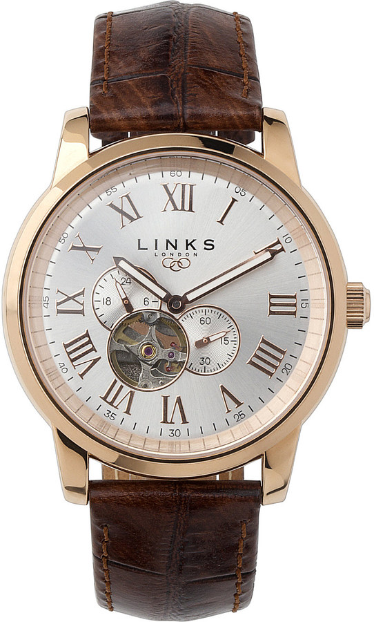 Links Of LondonLINKS OF LONDON Noble rose gold-plated watch