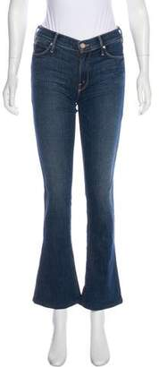 Mother Mid-Rise Flared Jeans