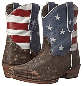 Roper American Flag Shorty