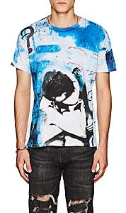 Made in Me 8 Men's Kiss-Graphic Cotton T-Shirt-White