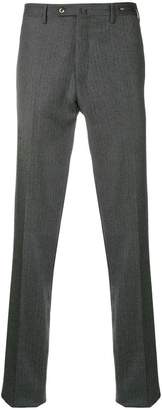 Pt01 herringbone slim trousers