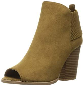 Qupid Women's Barnes-94a Ankle Bootie