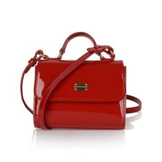 Dolce & Gabbana Dolce & GabbanaGirls Red Patent Leather Shoulder Bag