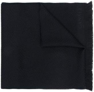 Canali textured dot scarf