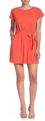 Love, Fire Short Sleeve Pocket Dress