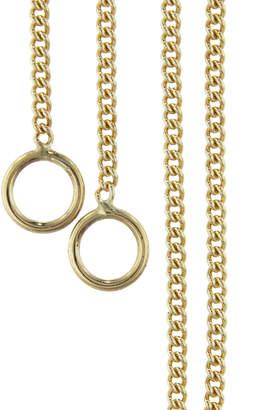 Marla Aaron Medium Curb Chain Necklace - Yellow Gold