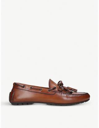 Ralph Lauren Purple Label Slip-on leather loafers