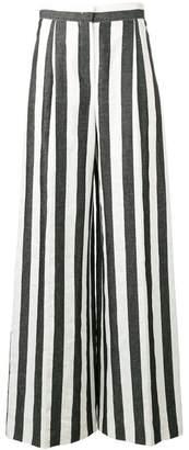 Escada Sport striped palazzo trousers