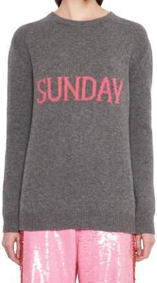 Alberta Ferretti 'raimbow Week' Sweater