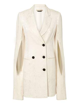Hellessy Thatcher Ivory Blazer Dress