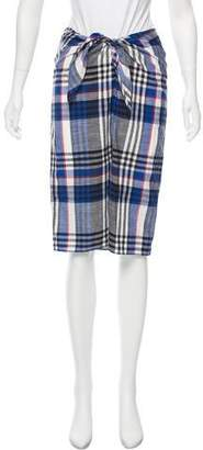 Jenni Kayne Linen Pencil Skirt
