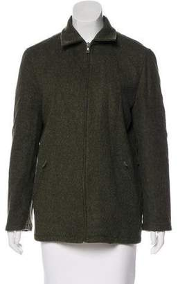 Prada Long Sleeve Wool Jacket