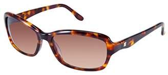BCBGMAXAZRIA Women's Engaged Rectangular Sunglasses