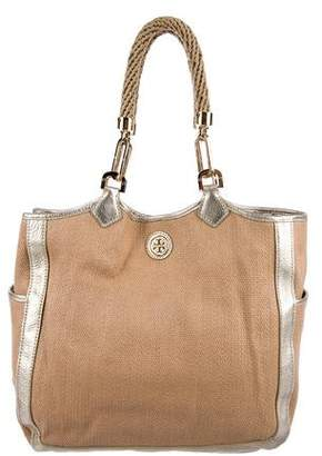 Tory Burch Leather Chain Tote