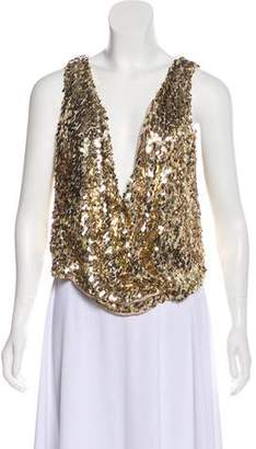 Loyd/Ford Sequin Sleeveless Top