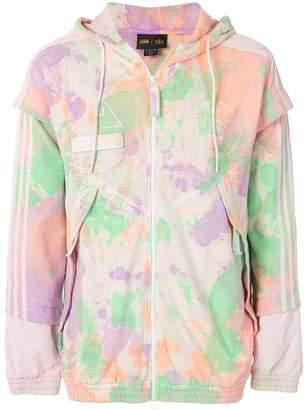 Pharrell Adidas By Williams pastel print zipped jacket