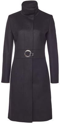 HUGO Mivana Virgin Wool Coat