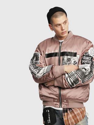 Diesel Jackets 0TAQF - Pink - L
