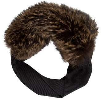 Lanvin Fox Fur Snood w/ Tags