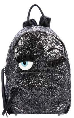 Chiara Ferragni Glitter Flirting Backpack